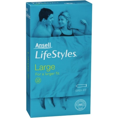 Ansell Lifestyles 12s Large